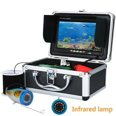 "7"" inch TFT LCD 15M Fish Finder Underwater Fishing Video Camera Monitor 1000TVL"