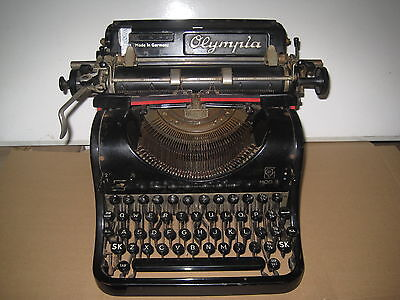 Antique Olympia MOD 8 Typewriter