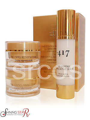 Minus 417 Anti Aging Kit (Firming Cream, Recovery a Cream & Facial Active Serum)