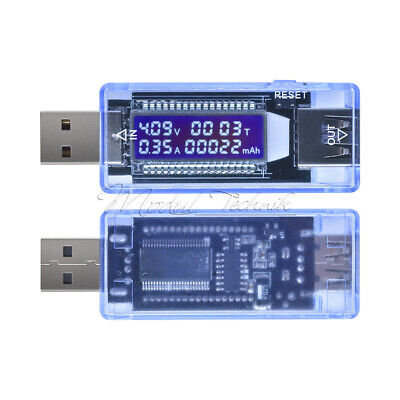USB Charger Doctor Capacity TIME Current Voltage Detector Battery Tester Meter