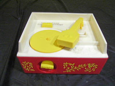 1971 Fisher Price Music Box and Player no Records Works
