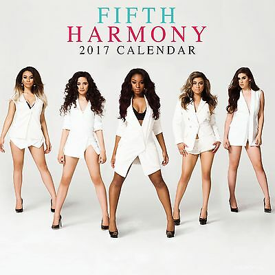Fifth Harmony Calendar 2017 with free pull out poster