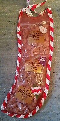 Mini Horse Treat Christmas Stocking. Contains 3 x 50gram pack of treats