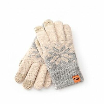 Original Xiaomi Female Screen Touch Gloves Wool Stretchy Soft Warm Knitting Wint