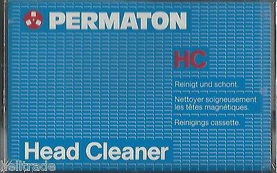 Reinigungs Kassette - Mc Audio Cassette Tape Heads Cleaner - Hc * New * Neu *