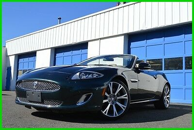 2013 Jaguar XK XK 5.0L V8 Convertible Cabriolet Roadster Save Big Very Low MIles Bowers & Wilkens Audio Navigation Heated Cooled Leather Excellent