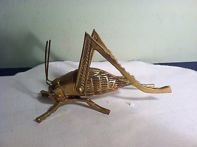Solid Brass Antique Vintage Style Fireplace Cricket For Good Luck.