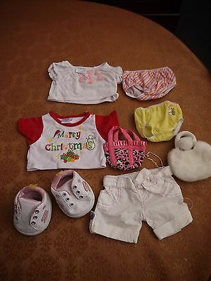 build a bear clothes and shoes group 40 girls stuff