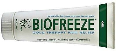 Biofreeze Gel Tube 3 oz Cold Therapy Pain Relief