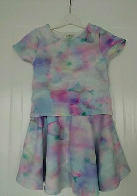 River Island Girls Top and Skirt set Outfit age 3-4 years