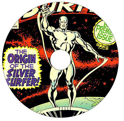 Silver Surfer DVD 230 issues Marvel comic collection Vols. 1 - 6