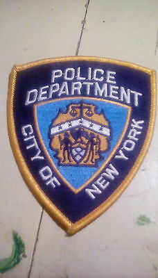 City of New York police patch