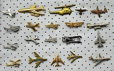 Vintage Aircraft Airplane-Lot of 20 pins