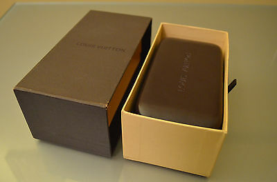 Brand New Louis Vuitton sunglasses case+cleaning cloth+booklet+gift box