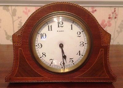 8 days french made mantel clock