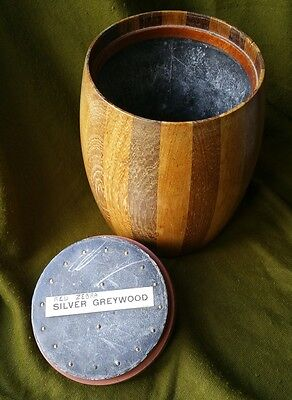 Early 20th Century Lead Lined Treen Tobacco Jar