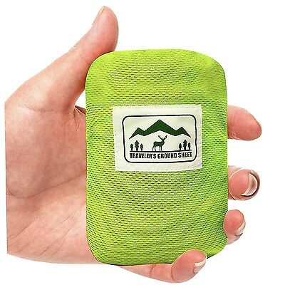 All Weather Pocket Blanket Camping Picnic Travel Outdoor Waterproof Cleanable