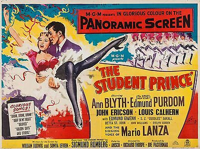 """The Student Prince 16"""" x 12"""" Reproduction Movie Poster Photograph"""