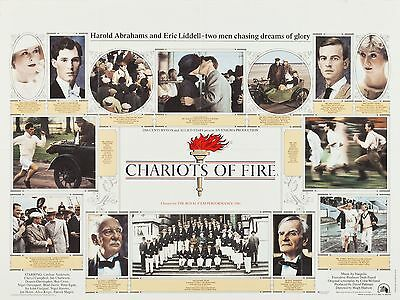 "Chariots of Fire 16"" x 12"" Reproduction Movie Poster Photograph"