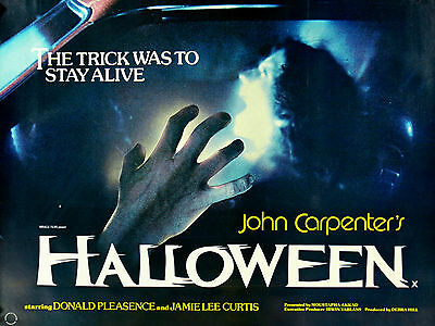 """Halloween 1978 16"""" x 12"""" Reproduction Movie Poster Photograph"""