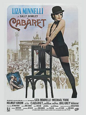 """Cabaret 16"""" x 12"""" Reproduction Movie Poster Photograph"""