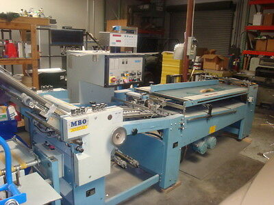 MBO B-26 Continuous Feed Folder 1998