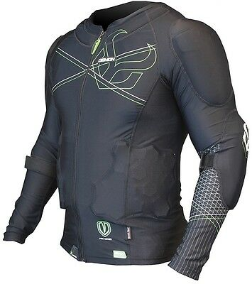 Demon Body Armour Flex Force Pro Mens Top – Snowboard, Ski, MTB Spine Protection