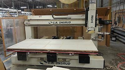 Onsrud Twin Table CNC Router Model 96C10 Mfg 2000