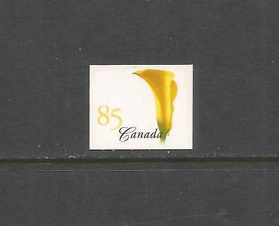 BOOKLET SINGLE  YELLOW CALLA LILY  #2081i    4mm TAG