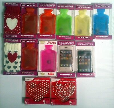 Handy Instant GEL Hand Warmers Reusable Warm Water Bottle Smartphone Heart  1PC