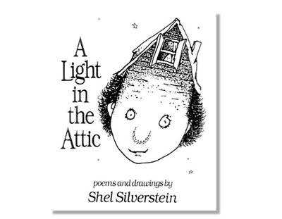 A LIGHT IN THE ATTIC by Shel Silverstein a Hardcover book FREE SHIPPING PoEtRy