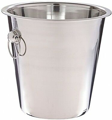 4 Quart Stainless Steel Ice Bucket Elegant Design Wine and Beverages
