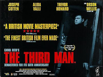 """The Third Man 16"""" x 12"""" Reproduction Movie Poster Photograph"""