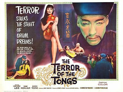 "Terror of the Tongs 16"" x 12"" Reproduction Movie Poster Photograph"