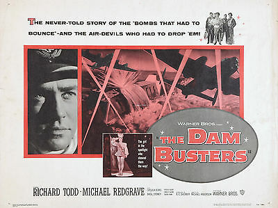 "The Dambusters 1955 16"" x 12"" Reproduction Movie Poster Photograph"