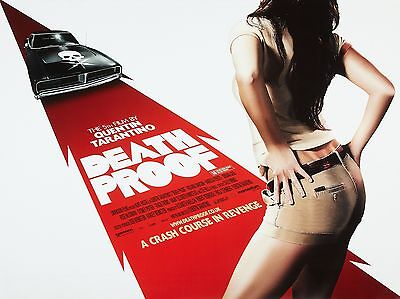 """Death Proof 16"""" x 12"""" Reproduction Movie Poster Photograph"""