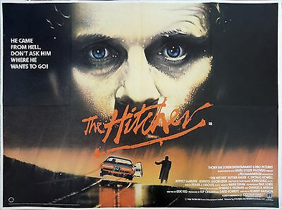 """The Hitcher 16"""" x 12"""" Reproduction Movie Poster Photograph"""