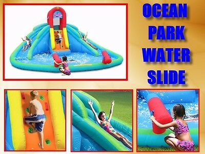 Inflatable Water Slides with Pool -  Ocean Park (IMMEDIATE PICK UP SYDNEY METRO)