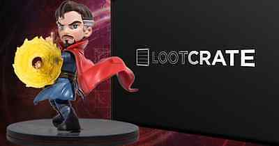 Doctor Strange Figure Q-Fig QMx Marvel EXCLUSIVE LOOTCRATE 2016 NEW IN BOX