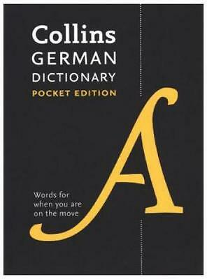 Collins Pocket German Dictionary in Colour  4950