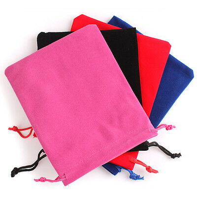 12/24PCS Royalblue Velvet Drawstring Jewelry Gift Bags Pouches Wedding Gift Lot