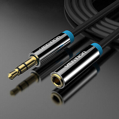 Vention 3.5mm Male to Female Stereo Jack Headphone Aux Audio Extension Cable