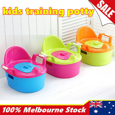 New Kids Children Baby Portable Toddler Toilet Training Potty Trainer Seat Chair