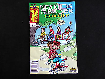 New Kids on the Block #3 (Feb 1991 Harvey)