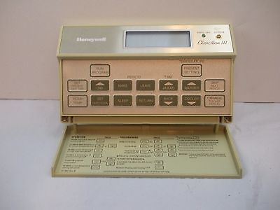 Honeywell Chronotherm III Programmable Thermostat - No Base