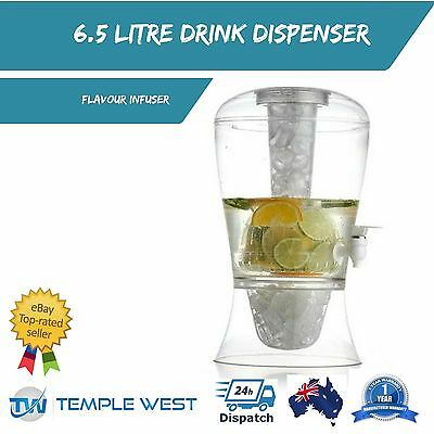 NEW 7.5L Drink Dispenser Ice Infuser Flavour Water Juice Cooler Party Wedding