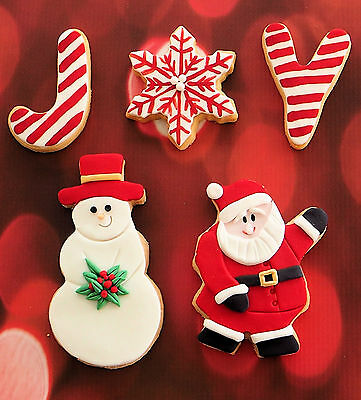Christmas Joy Cookie Cutter Pack - (5 Pieces)