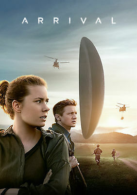 Arrival Movie Poster 61x91cm