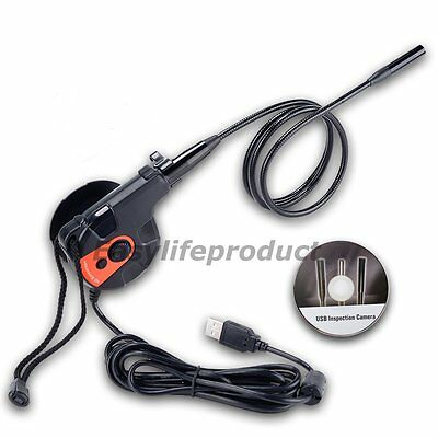 Tape Style USB HD Inspection Camera Borescope Endoscope Video Snake Scope