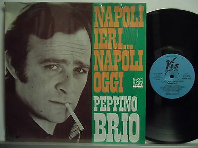PEPPINO BRIO disco LP 33 giri STAMPA ITALIANA Napoli ieri...oggi MADE in ITALY